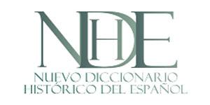Logo NUEVO DICCIONARIO HISTÓRICO DEL ESPAÑOL